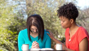 Spirituality and the Recovery Process - women praying - ranch at dove tree