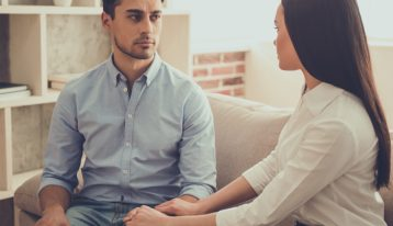7 Ways to Start the Conversation about Drug and Alcohol Abuse - man and woman talking