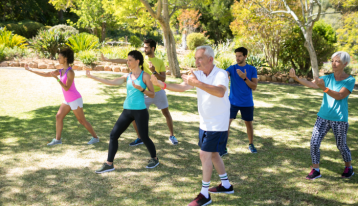 People Exercising - Health